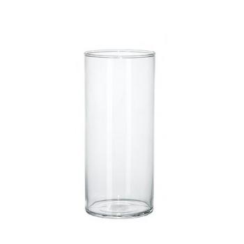 Cilinder vaas van glas