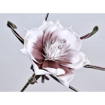Foam bloem aubergine Ø 20 cm
