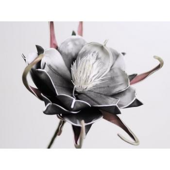 Foam bloem zwart Ø 20 cm