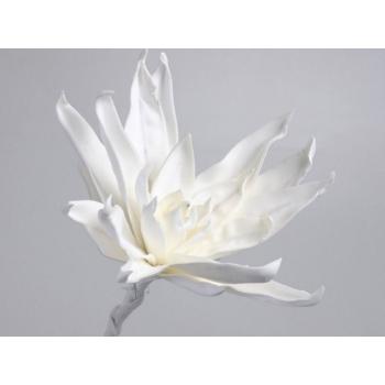 Foam bloem wit Ø 35 cm