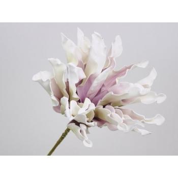 Foam bloem Dracena wit lila Ø 24 cm