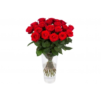 Boeket van 20 Red Naomi rozen
